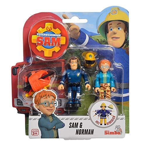 Feuerwehrmann Sam Norman & Sam Spiel Figuren Set | Simba Toys