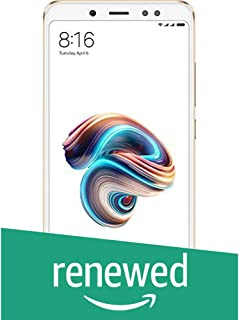 (Renewed) Redmi Note 5 Pro (Gold, 4GB RAM, 64GB Storage)