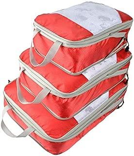 Generic Nylon Large Waterproof Mesh Travel Bag Organize Compression Packing Cube Travel Luggage Organizer: 1, Russian Federation