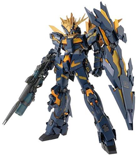 Bandai 83335P Hobby PG 1/60 Unicorn 02 Banshee Norn Gundam UC actionfigur leksaker & konstruktion, flerfärgad