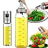 Nifogo Pulverizador Aceite - Oil Sprayer,Pulverizador de Aceite Portátil Aceite Pulverizador de vinagre y Aceite,para Dispensador de condimentos Ideal y portátil para Barbacoa,Cocina Diurna (B-2 pcs)