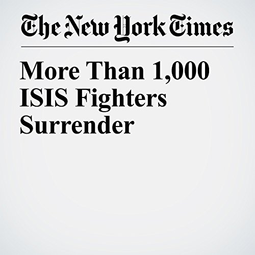 More Than 1,000 ISIS Fighters Surrender copertina