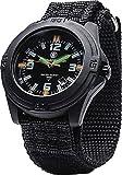 Smith & Wesson Men's 10ATM Soldier Tritium H3 Precision Quartz Tactical-Tough Watch, 43mm