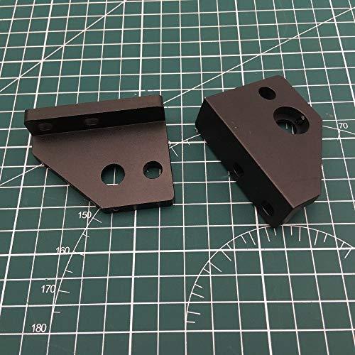 WNJ-TOOL, 1set for Upgrade-AM8 3D-Drucker Aluminiummetall Z Motorhalterung rechts/Links und Z Rod Kit Halter (Größe : Z Rod Holder kit)