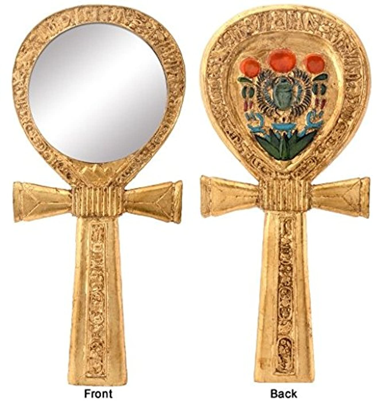 有彩色の岩面白いYTC Summit 5786 ANKH EGYPTIAN HAND MIRROR, C-24