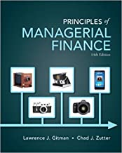 Best principles of managerial finance 14th edition Reviews