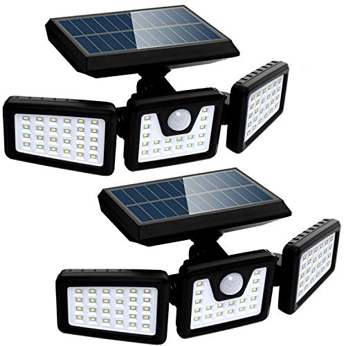 Solar Lights Outdoor with Motion Sensor, 3...