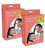 Baby Bell DUO PLUS Set 2 dispositivi anti abbandono Baby Bell PLUS, per 2 auto o accoppiati in una....