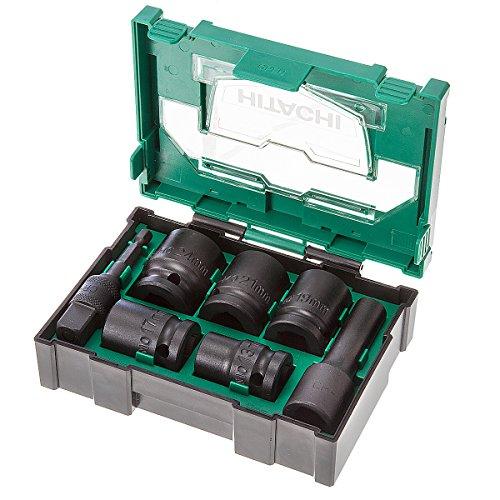 Hikoki 40030025 7-delige kracht-dopsleutelbox