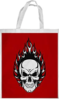 Skull shape Printed Shopping bag, Large Size