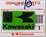 Nuevo 100% Original Kawasaki ' k' Mark Pegatina Verde/Negro 42mm X 24mm