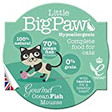 Little BigPaw Gourmet Ocean Fish Mousse for Cats 8 x 85 g