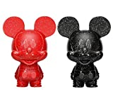 Mickey Mouse Red & Black Hikari XS Vinyl Figurine Set