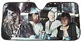 LA Auto Gear Plasticolor 003700R01 Star Wars Accordion Sunshade