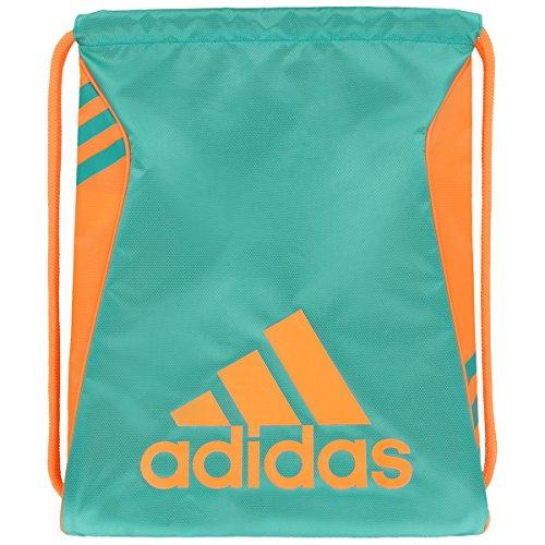 adidas Burst Sack Pack, One Size, Shock Mint/Glow Orange