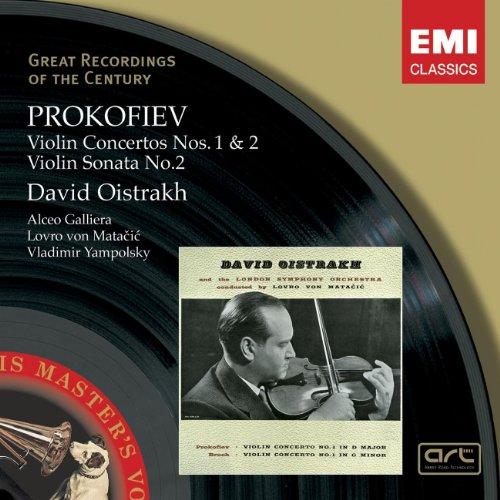Prokofiev: Violin Concertos Nos. 1 & 2 / Violin Sonata No. 2 (Great Recordings of the Century)