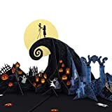 Lovepop Disney's Tim Burton's The Nightmare Before Christmas Pop Up Card - Greeting Card, 3D Cards, Christmas Cards, Popup Greeting Cards, Christmas Card for Children, Halloween Card