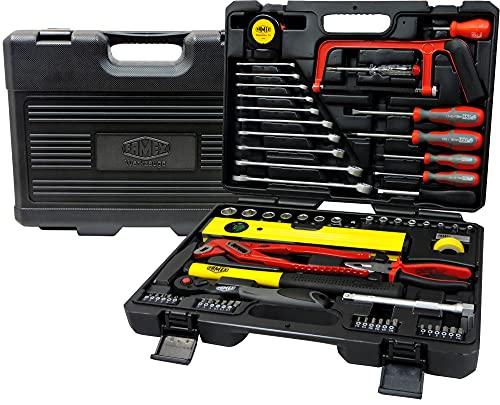 FAMEX 145-FX-48 Werkzeugkoffer Universal mit 72-Zahn-Knarre