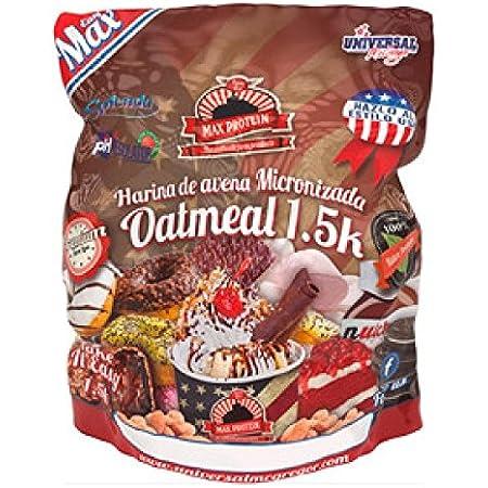 Max Protein Oatmeal Harina Avena, Termo-Activada - 1500 gr ...