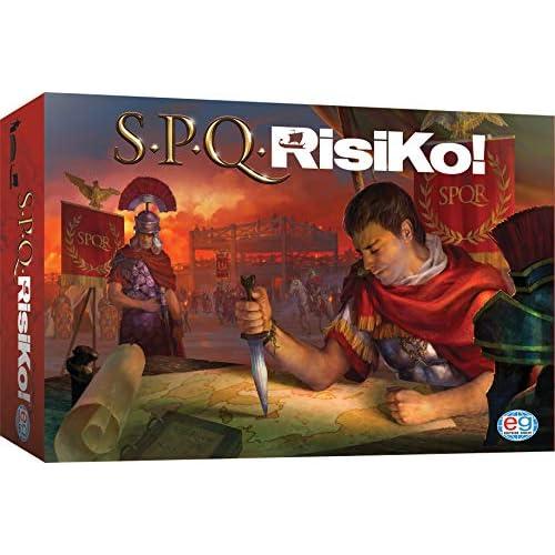 Editrice Giochi SPQRisiKo! Gioco da Tavolo, Gioco di Strategia, Ambientato nell'Antico Impero Romano, dagli 8 Anni, 6053992