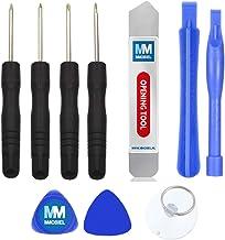 MMOBIEL Kit 10 en 1 de Herramientas para reparación inclyendo Destornilladores, Herramientas pry. para teléfonos Inteligentes, etc Incl Copa de succión y Palanca metálica (Spudger)
