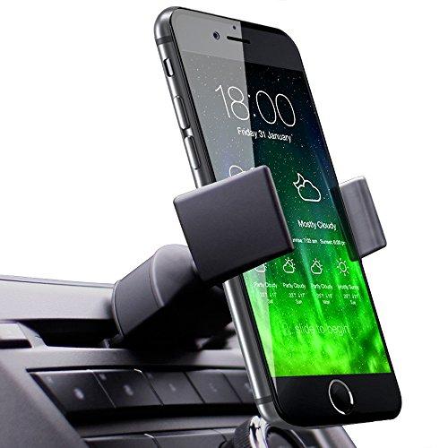 Koomus Pro CD Slot Soporte de Coche para iPhone 6, 6 Plus, 5S, 5C, 5, Samsung Galaxy