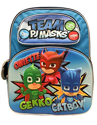 TEAM PJ MASKS 3D 16' Large Backpack