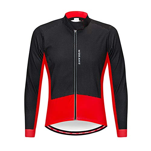 FZYQY Chaqueta Impermeable para Ciclismo, Hombre,Maillot Ciclismo Hombre Ropa Camiseta Jersey Bicicleta...