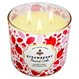 ✅ White Barn 3 wick candle soot free, clean burn, long lasting, brighter for extra ambiance; lead-free wicks ✅ Made with top-notch concentration of natural essential oils and fragrance notes of Fresh Strawberries, Golden Shortcake and Whipped Cream ✅...