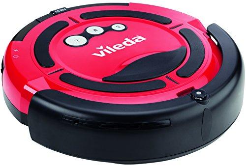 Vileda 137173 Cleaning Robot - Saugroboter zur Zwischendurchreinigung - für glatte Böden & kurzflorige Teppiche