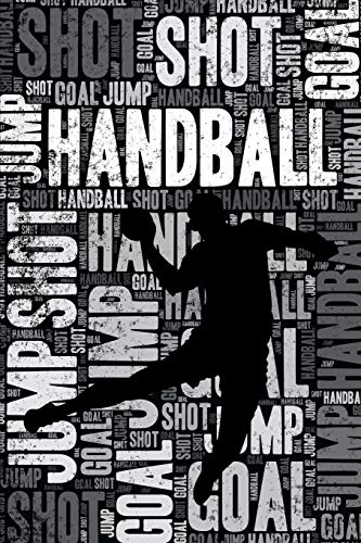Handball Journal: Cool Blank Lined Handball Lovers Notebook For Player and Coach