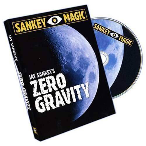 SOLOMAGIA Zero Gravity (Gimmick and DVD) by Jay Sankey - Anweisungsbuch und DVD - Zaubertricks und Props