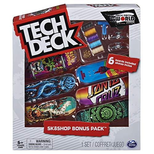 Tech-Deck Sk8shop Bonus Pack World Edition Limited Series 2020 (Santa Cruz)