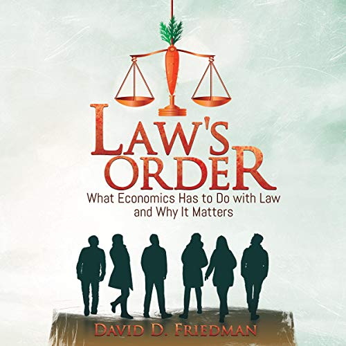 Law's Order audiobook cover art