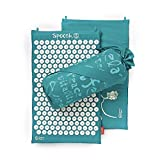 Spoonk Sleep Induction and Back Pain Relief Acupressure mat in 100% Cotton, Eco Foam USA Made by Spoonk Space
