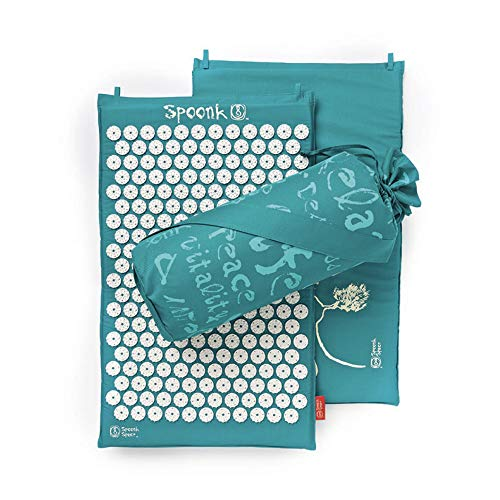 Spoonk Sleep Induction and Back Pain Relief Acupressure mat in 100% Cotton