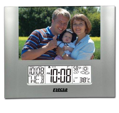 Elecsa GmbH Photo Wetterstation Wecker Luftfeuchte Thermometer Modell ELECSA 6845