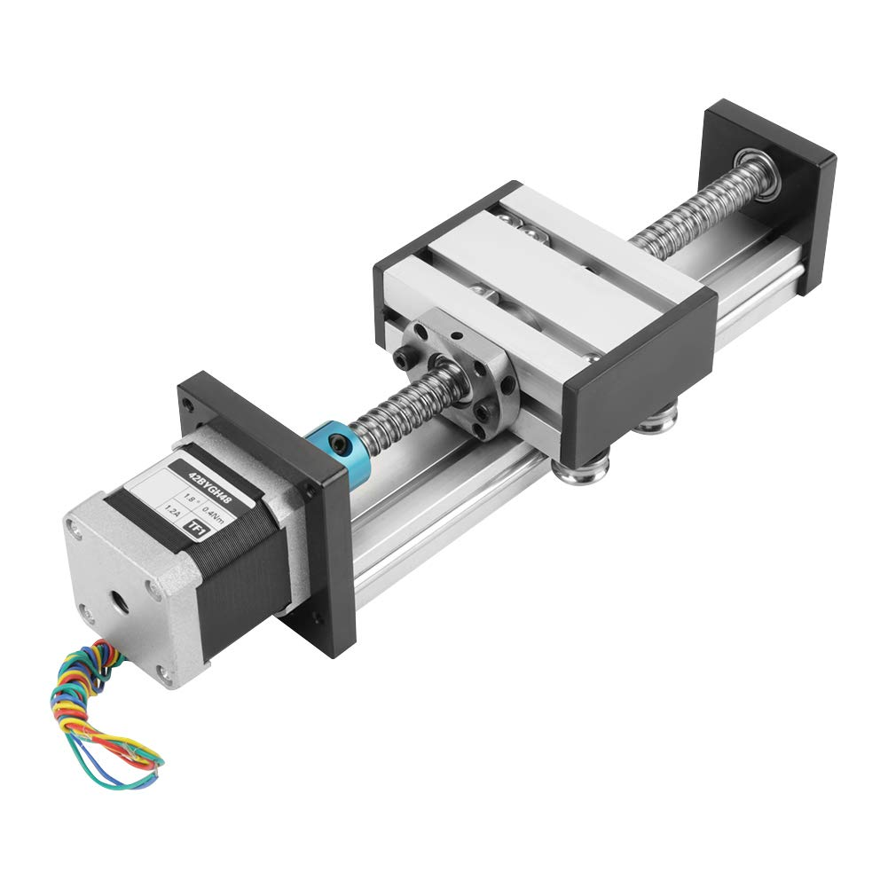 Akozon Max 48% OFF Automatic Ball Denver Mall Screw Linear CNC Long Stage Stroke Slide A