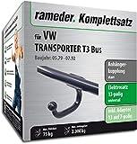 Rameder Komplettsatz, Anhängerkupplung starr + 13pol Elektrik für VW Transporter T3 Bus (124857-03889-2)