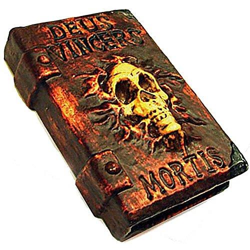 Generique - Hexenbuch Halloween-Deko braun schwarz Gold