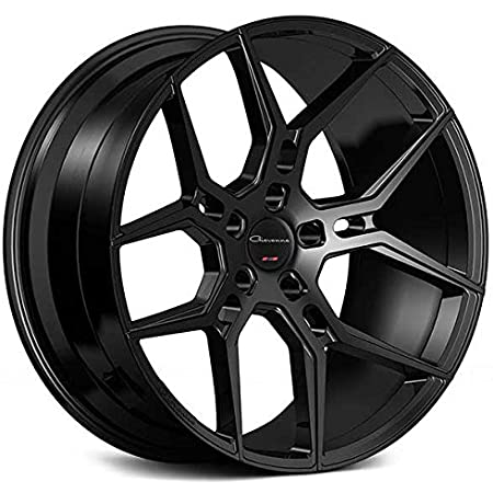 """20 Inch Rims - Black Wheels - STAGGERED - Set of 4 Rims - Made for MAX Performance - Fits ALL Cars - Racing Wheels for Challenger, Mustang, Camaro, BMW, and More! (20x9"""" x 20x10.5"""") - Giovanna Haleb"""
