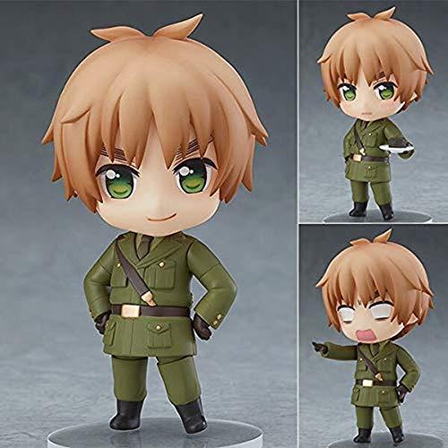 YQYW Axis Power Hetalia Personaje Reino Unido Arthur Kirkland Cute Kawaii 10cm Figura de acción Juguetes