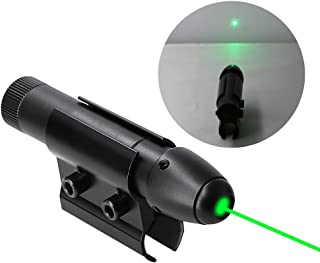 Higoo Powerful Green Laser Dot Sight, Military Tactical Hungting Green Laser Scope, Green Laser Pointer Presenter Pen Aiming Sight