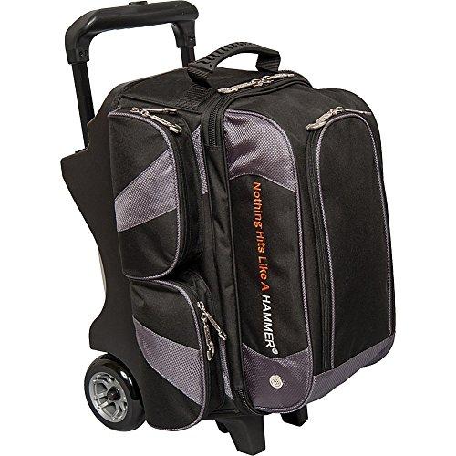 HAMMER Bowlingtasche Premium Double Roller Black/Carbon