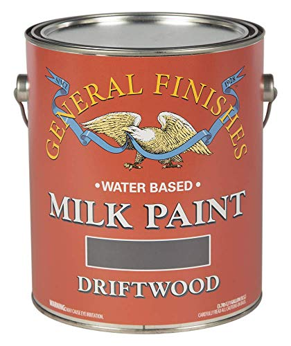 General Finishes Water Based Milk Paint, 1 Gallon, Driftwood