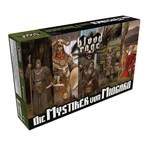 Asmodee Blood Rage - Die Mystiker von Midgard, Erweiterung, Expertenspiel, Deutsch