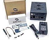 CMC TECH Metal Enclosure Case PCI-E 2.0 1X M.2 Key E + SATA 2.5 inch HDD 2.5' SSD 500MB/s Controller Board 20W 5.3V 4A Power + 6020 Dual Ball Bearing Fan for NVIDIA Jetson Nano Development Kit A02 B01