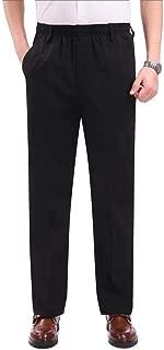 Men's Classic-Fit Elastic Waistband Lightweight Pants