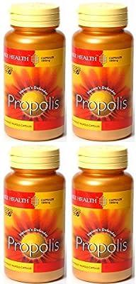 (4 PACK) - Bee Health - Propolis 1000mg | 90's (BEE-100170) | 4 PACK BUNDLE by Bee Health