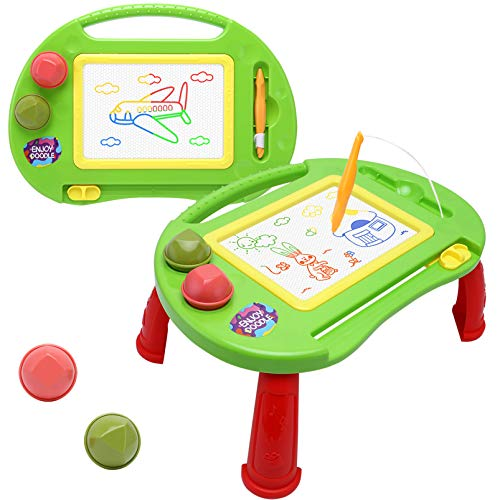 Magnetic Drawing Board,Toys for 2-3 Year Old Girls,Magna Erasable Doodle Board for Kids,A Table Etch Sketch Pad Toddler Toys for Girls Boys Age 2-5